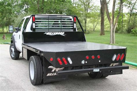 pickup bed platforms and flatbeds grant county truck bodies