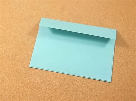 How To Make A Paper Card - how to make a greeting card envelope 11 steps with pictures