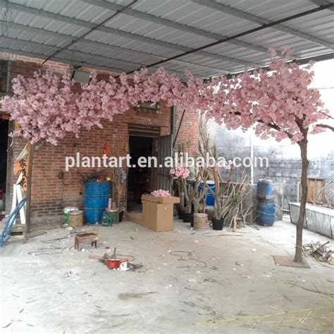 Japanese Wedding Arch by 2016 Factory Wholesale Lifelike Artificial Cherry Blossom