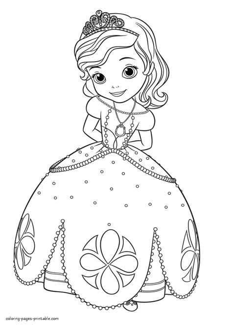 sofia the coloring pages princess sofia coloring pages printable printable