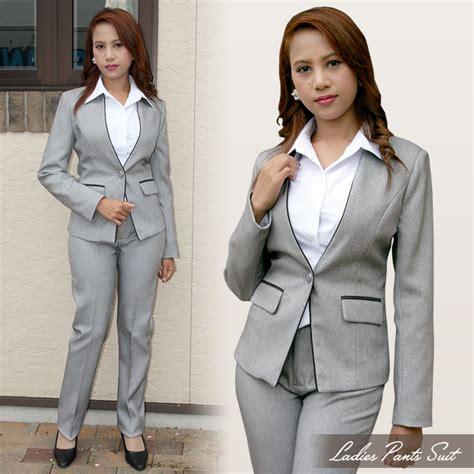 marino trouser suit formal suit worn   job interview