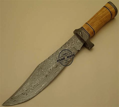 Damascus Handmade Knives - damascus knife custom handmade damascus steel
