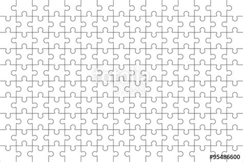 puzzle pattern illustrator quot jigsaw puzzle blank template 150 pieces quot stock image and