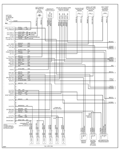 2007 dodge ram 2500 wire harness wiring diagram