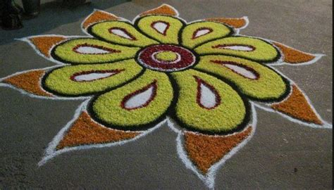 Deepavali Decorations Home by 5 Easy Rangoli Designs For Diwali 2016 Sbs Your Language
