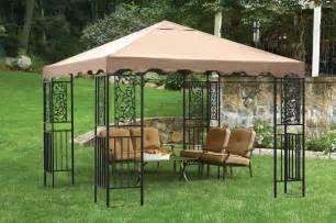 Vinyl Patio Umbrella Backyard Canopy Gazebo Versatile And Highly Portable
