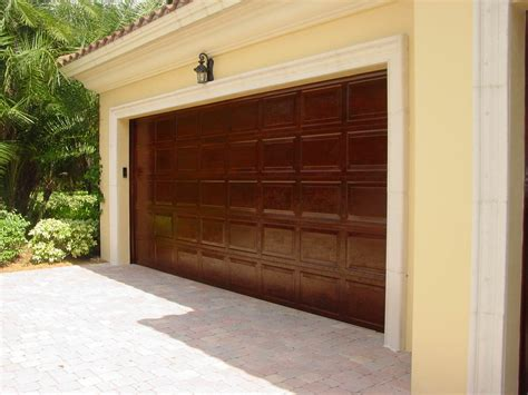 Garage Door Faux Wood Composite Wood Garage Doors Bitdigest Design Why Use The Faux Wood Garage Doors