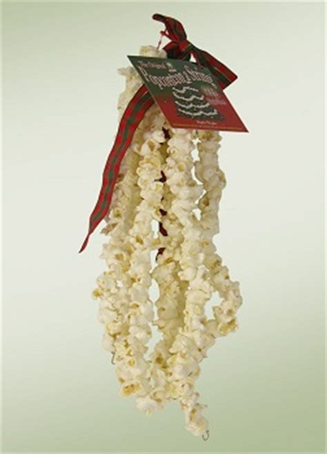 how to make xmas popcorn tinsel tree garland tree trimmings and decor