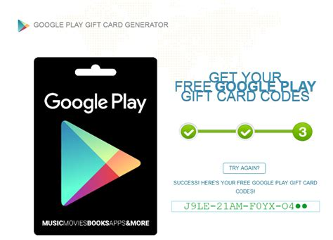 Free Google Play Gift Card Codes No Survey - google play gift card code generator online no survey 2017 infocard co