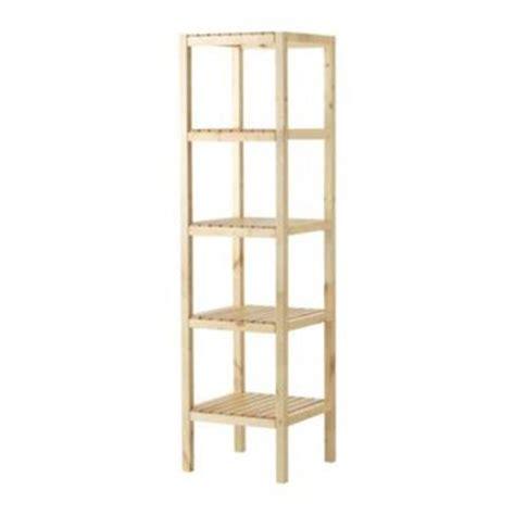 scaffali in legno grezzo scaffali ikea per il living librerie