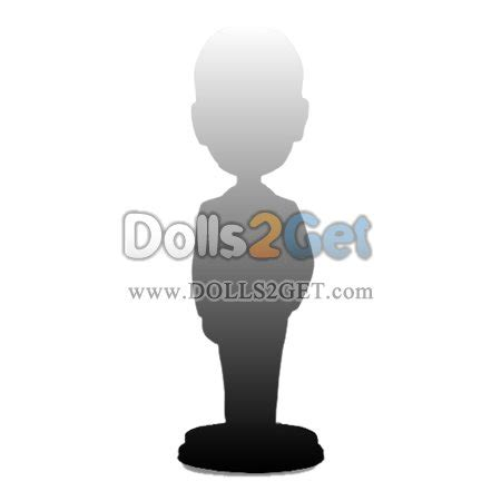 bobblehead 3d model custom customize your and clothes on this bobblehead