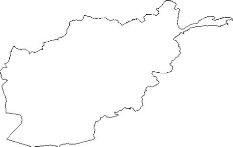 Afghanistan Pakistan Map Outline by Blank Outline Map Of Afghanistan Clipart Best Clipart Best