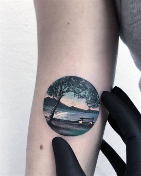 family tattoo round lake tatuajes de circulos dise 241 os y significados tatuajes