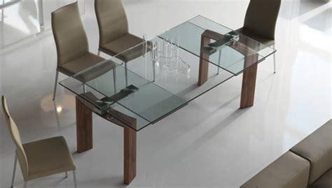 tavoli in cristallo allungabili cattelan cattelan italia tavolo allungabile daytona 140x80 tavoli