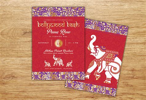 indian themed birthday invitations indian invitation gold middle eastern