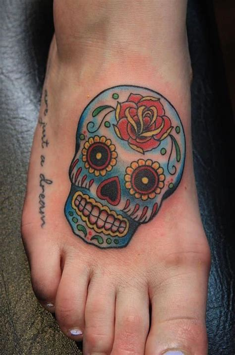 candy skull tattoo design 138 cool sugar skull tattoos