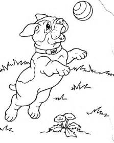 free printable puppies coloring pages kids
