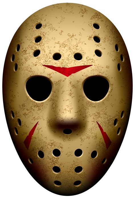 jason mask template jason mask friday the 13th png clip image gallery