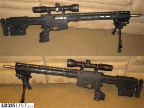 bench rifle armslist for sale custom build 20 quot ar bench rifle