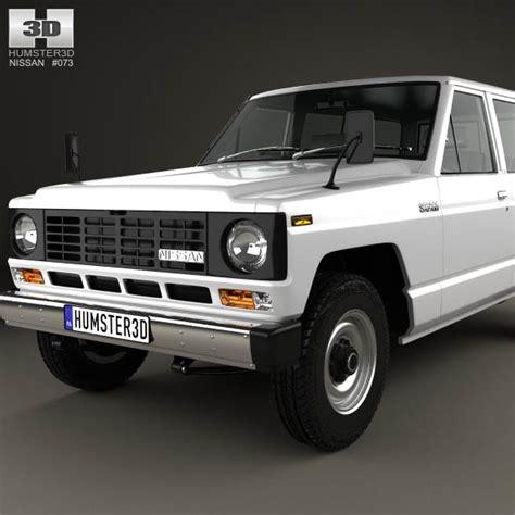 1980 nissan patrol nissan patrol 160 1980 3d model hum3d