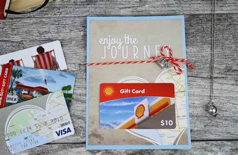 Gas Station E Gift Cards - free printable enjoy the journey graduation gift card holder gcg