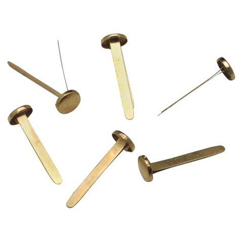 paper fastener crafts brass paper fasteners split pin fasteners 25mm pk200 ebay