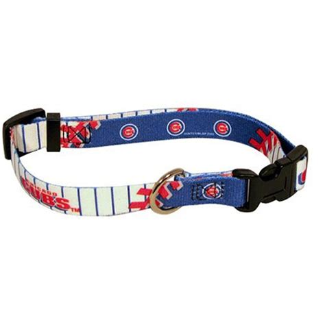 cubs collar chicago cubs baseball printed collar at baxterboo