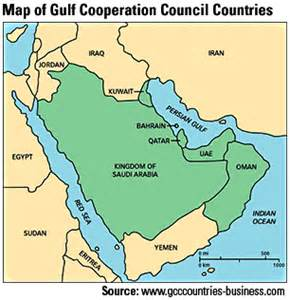 Gcc Countries Map Outline by Circumspect News Gcc Gulf