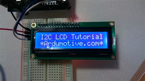 arduino uno i2c lcd tutorial how to use an i2c lcd 16x2 with arduino ardumotive