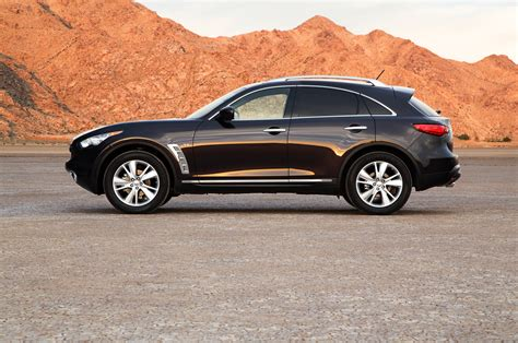 infinity side 2014 infiniti qx70 side photo 4