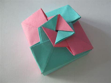 origami gift box tutorial learn  origami origami paper craft
