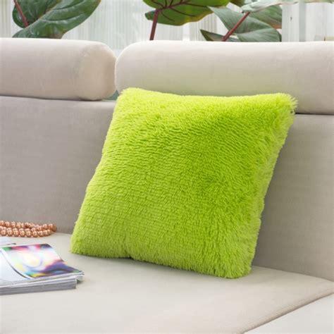 popular soft long plush cushion cover bed sofa throw fur pillow case home decor chic super soft long plush cushion cover bed sofa throw