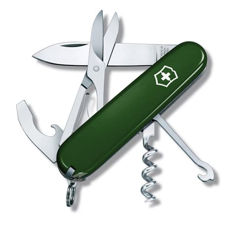 green swiss army knife compact green swiss army knife