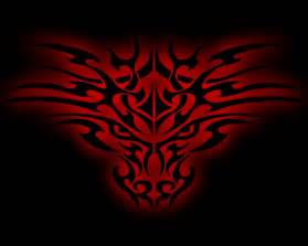 tribal dragon ver 2 by twoolie88 on deviantart