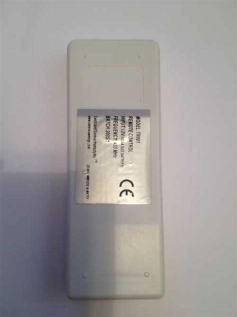 soneva awnings swithland soneva homestyles tr001 remote control repair