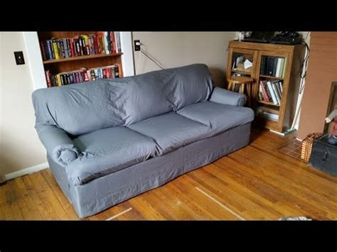 cover sofa with sheet diy easy cheap no sew couch reupholster cover with bed