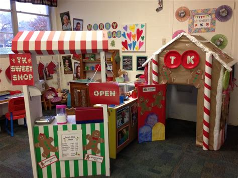 gingerbread house daycare dramatic play gingerbread house sweet shop preschool dramatic play pinterest