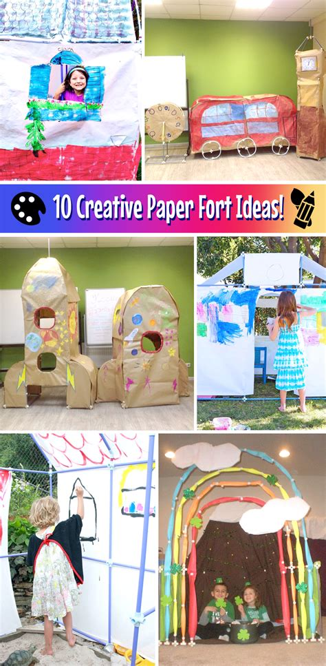 How To Make A Paper Fort - discover 10 creative and paper fort ideas for