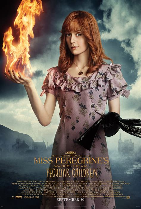 miss peregrine s home for peculiar children posters