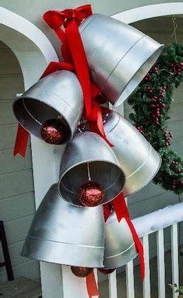 diy giant christmas bells outdoor decor diy decoration ideas for