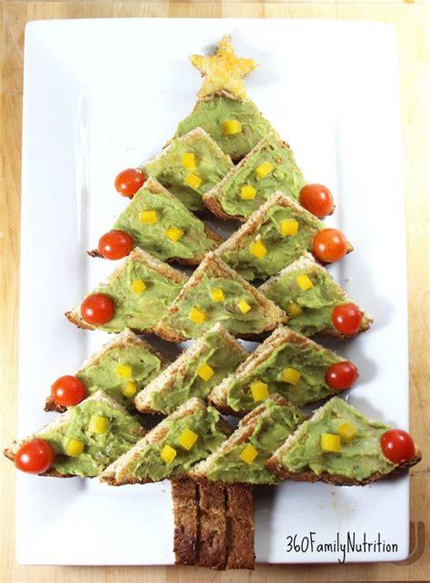360familynutrition avocado toast christmas tree appetizer