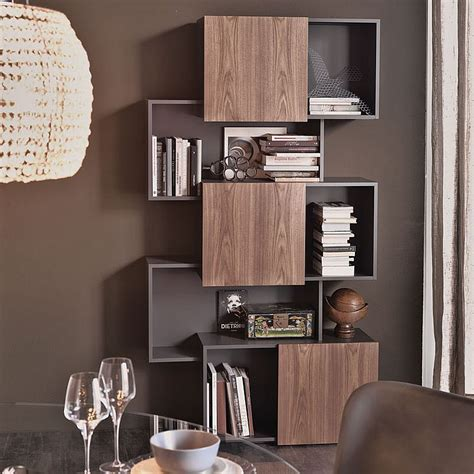 Stylish Bookshelf by 4 Awesome Bookcase Designs For The Trendy Modern Home