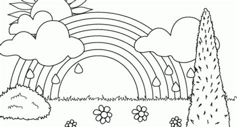 cool rainbow coloring page printable rainbow coloring page printable coloring page