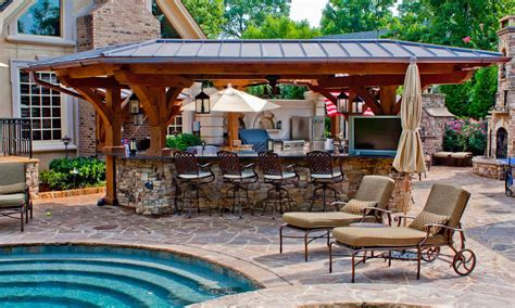 pool and outdoor kitchen designs outdoor beautiful chinese garden design ideas amazing