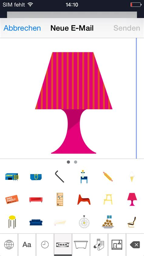Ikea Ios by Ikea Emoticons Iphone App Iphone App Chip