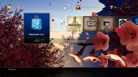 new themes ps4 new cherry blossoms ps4 dynamic theme changes with the