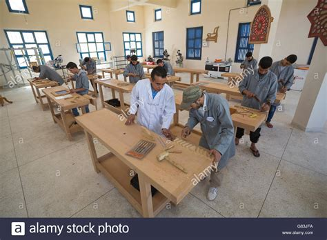 students practice  woodworking class   institute
