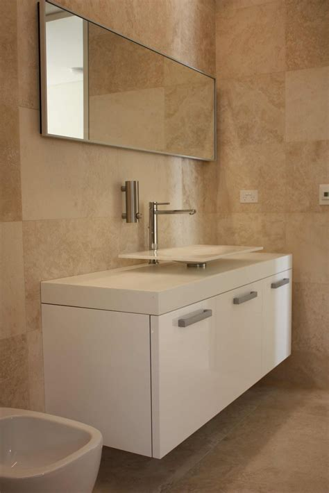 Travertine Tile Bathroom Installing Tile Travertine Bathroom Home Design Ideas