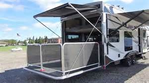 Patio Hauler by 2015 Lance 2612 Toy Hauler With Rear Patio 0051 Superior