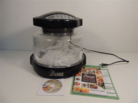 nuwave pro infrared oven cooking system model 20355 ebay